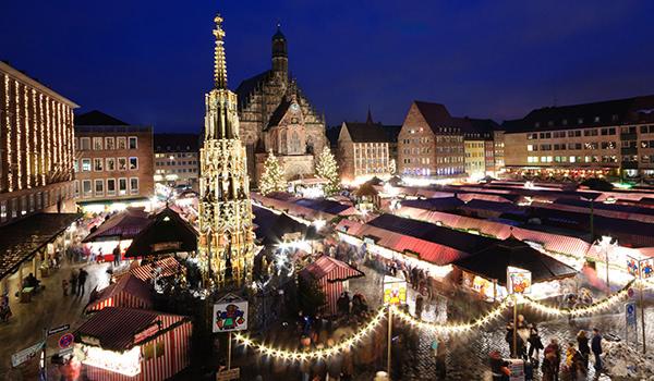 Trhy v Norimberku; foto: Scirocco340 / Shutterstock.com